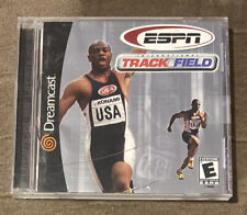 Espn Track & Field Sega Dreamcast ~ Complete! ~ Works Great! ~ Fast Shipping!