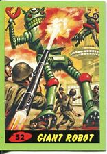 Mars Attacks Heritage Green Parallel Base Card #52    Giant Robot