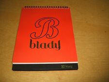 KOREA CD/BLADY - Crazy Day 2014 CALENDER - LOT OF PHOTO/40pages