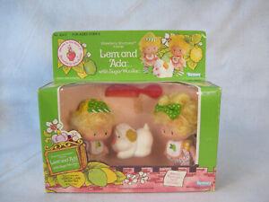 Vintage 1983 Strawberry Shortcake Lem And Ada Sugar Woofer Sealed NRFB 45410
