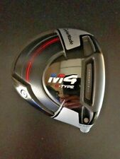 2018 TaylorMade Golf M4 D Type 10.5* Driver Head Only & Fits M2 M1 Shaft NEW!