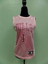 Adidas Bulls Jersey Derrick Rose Basketball Women's Medium Pink NBA