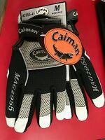 Caiman® White Goat Padded Palm Multi-Activity Glove # 2955 Medium