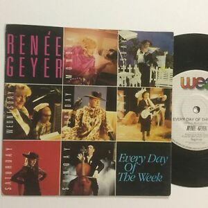 """Renee Gayer Every Day Of The Week EXc Picture Cover 7"""" Single Record"""