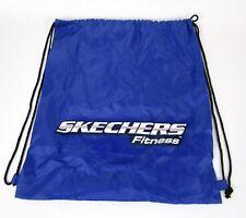 Skechers Drawstring Cinch Sack Backpack School Tote Gym Beach Travel Shoe Bag