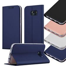 Case for Samsung Galaxy Wallet Matt Metallic Book Cover Stand Flip Etui
