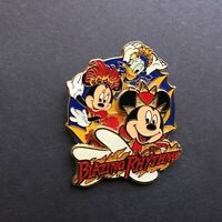 TDL - Blazing Rhythms - Mickey, Minnie & Donald Disney Pin 40223