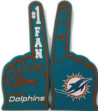 NFL Miami Dolphins Foam Finger, NEW