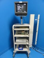Pentax FI-10P2 Intubation Scope Tower ~ Scope Light Source CCU Printer (10905)