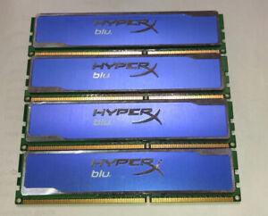 16GB (4x4GB) Kingston HyperX Blu (PC3-12800) DDR3-1600MHz Arbeitsspeicher