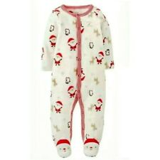 """Carter's Just One You """"Santa's Helper""""  Size 3Months 1 pc Santa Footed Sleeper"""