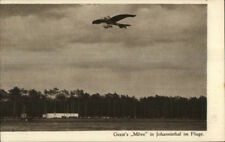 Pioneer Aviation Monoplane Airplane Geest's Move Jahannisthal Postcard