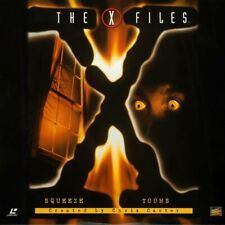 X-FILES (THE) SQUEEZE / TOOMS CC N&S NTSC LASERDISC