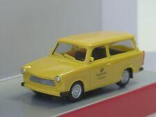 """Herpa Trabant 601 Universal """"DEUTSCHE POST 126466"""" - 093095 - 1/87"""
