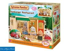 Sylvanian Families 5271 Hamburger Restaurant Epoch selten Neu OVP