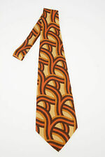 GUCCI men Ties and Bow Ties Multicolor Tie Necktie Silk Logo Print Multicolor