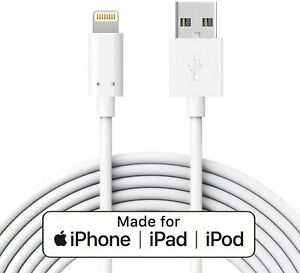 8 pin USB DATA SYNC CHARGING CABLE for Apple iPad iPhone 1m