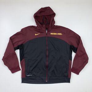 Nike Arizona State Sweatshirt Size 2XL Full Zip ASU