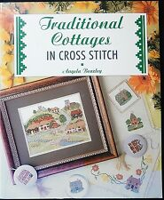 Cross Stitch Charts - Traditional Cottages in Cross Stitch  - Angela Beazley