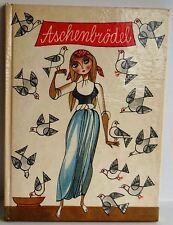 Aschenbrodel Cinderella Jan Pilar 1960 vintage children's illust HB German text