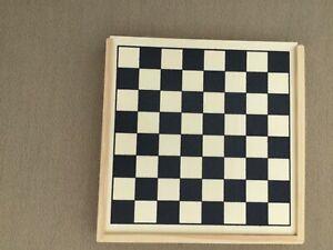 Chess- Mini Wooden Travel Game