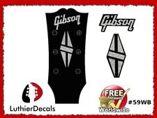 Gibson Guitar Decal Headstock Decal Restoration Waterslide inlay Logo 59wb