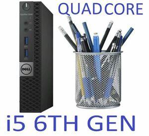 DELL 3040 MICRO MINI Tiny PC i5 6TH GEN 8 GB RAM 120 / 240GB 512GB SSD WIFI HDMI