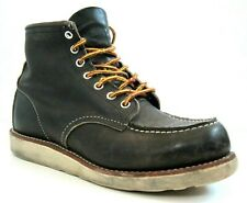 Red Wing Heritage 8890 Charcoal Classic Moc Mens Leather Boots 7 D 7D