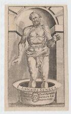 Kupferstich ca. 1750 The Death of Seneca Tod des Seneca nach Peter Paul Rubens