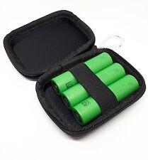 3x Sony Konion Akku mit Tasche US18650 VTC5 3,7V 2600mAh 30A für e Zigaretten
