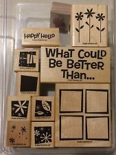 """Stampin """"What Could Be Better?"""" 10 Stamps - """"Combine Shipping"""" 50+ Sets       j4"""