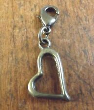 charms bronze coeur 18x17 mm
