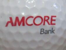 (1) Amcore Bank - Failed Rockford Illinois Logo Golf Ball