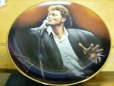 """CLIFF RICHARD 40th DANBURY MINT PLATE - """" THE ONE AND ONLY """" PERFECT CONDITION"""