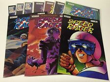 SPEED RACER #1-17 (NOW COMICS/MOVIE COMING SOON/HOT/0216214) SET LOT OF 10