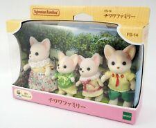 Sylvanian Families Chihuahua Dog Family Doll set Calico Critters 1/12 JAPAN