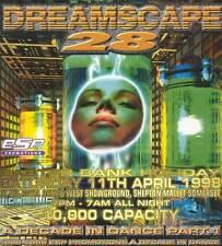 DREAMSCAPE 28 - A DECADE IN DANCE PART 1 (HARDCORE CD'S) 11TH APRIL 1998