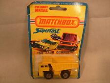 1976 MATCHBOX LESNEY SUPERFAST #58 FAUN DUMPER TRUCK MOC