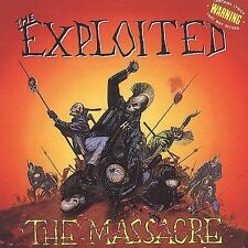 The Exploited - The Massacre CD ~ Punk Rock ~ Brand New - Free shipping