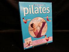 Simply Pilates DVD & Book Instructional Beginner Box Set Brand New