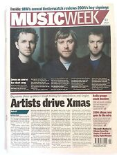 MUSIC WEEK MAGAZINE   8  JANUARY 2005  2004 ALBUM RACE GOES TO THE WIRE       LS
