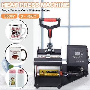 Digital Mug Heat Press Machine Printer Printing Sublimation Mug Latte Coffee Cup