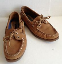 Women's Leather Sperry Casual Tan Shoes Size 9M