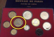 FDC : 20 francs 1994 Mont Saint Michel BU neuve de coffret