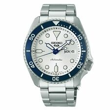 Seiko 5 Sports 140th Anniversary Limited Edition Automatic White Watch SRPG47K1