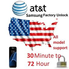AT&T SAMSUNG FACTORY UNLOCK CODE SERVICE GALAXY S2,S3,S4,S5,S6,S7 NOTE 3,4,5