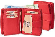 Rinaldo Femmes Porte-Monnaie avec Notamment Beaucoup de Compartiments en Rouge