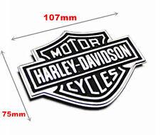 Metal Sticker Harley Davidson Chrome Motorcycle Body Tank Emblem Badge Large
