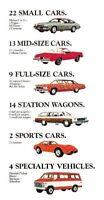 1975 Chevrolet FULL LINE Catalog Brochure: Corvette,Camaro,Station Wagon,PickUp
