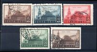 Russia, 1934, 10th Death Anniversary of Lenin, set of 5 (SG 648-652), used